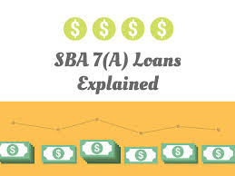 SBA 7(a) loans explained